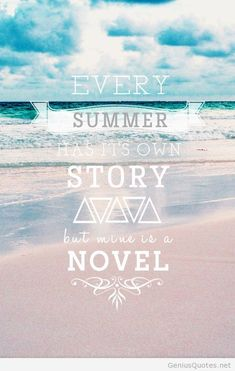 All my summers have been spent traveling and being a nomad, this summer in Ocean City with Mike is gonna be good!