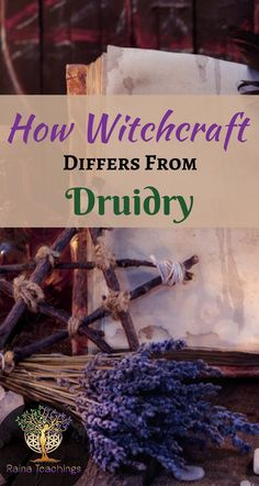 Druidry is what you think of as a Celtic Druid, although there were druids all over. They moved to many different areas such as Germany, Wales, England and even Turkey. The term Druid refers to that time period of magick