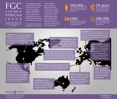 Female genital cutting is a social norm often held in place or even reinforced among diaspora communities. This infographic looks at some of the larger practising communities worldwide, and how countries have attempted to tackle the issue.