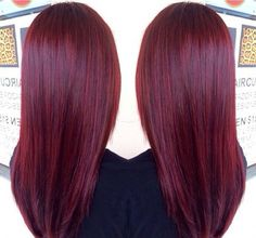 My life would be complete if I had this hair color.