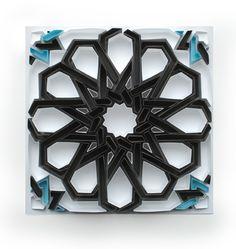 Matthew Shlian's paper sculptures