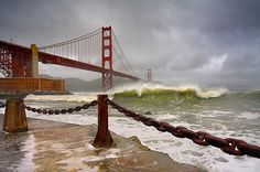 Rust and Surf # 2 - San Francisco by PatrickSmithPhotography, via Flickr