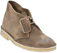Clarks Originals Desert Women's Classic Suede Ankle Boots (Taupe)