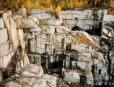 Edward Burtynsky, Rock of Ages #12, Abandoned Granite Section, Adam-Pirie Quarry, Barre, Vermont, 1991-2004