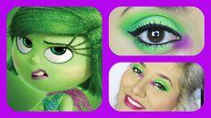 DISNEY'S Pixar Inside Out 'Disgust' INSPIRED Makeup