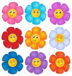 Imagenes De Flores En Caricatura - Imagen En Hd 3 HD Wallpapers
