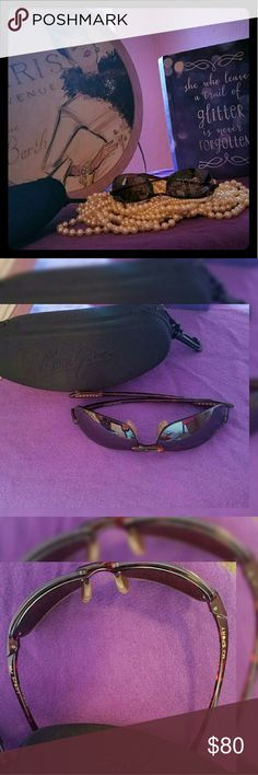 Maui Jim Ho'okipa Polarized Unisex Sunglassed Polarized Maui Jim's. Sport unisex. Great condition  there is a small scratch (took a pix ask me for it but doesn't show) and this was considered in price.  Case included.  Women or Men sunglasses Maui Jim Accessories Sunglasses