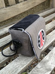 Camera Bag for LC-A (analog camera). It is made with strong interfacing and strong fabrics.  Of course, it's okay for any other fragile things, or stuff to protect.  Photo by Maud R, www.fabricspaperpixels.wordpress.com Other Accessories, Wordpress, Fabrics, Strong, Group, Bags, Tejidos, Handbags, Taschen
