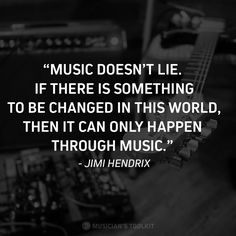 Great words from one of the greatest guitarists ever. Violin Quotes, Music Quotes, Music Wall Decor, The Power Of Music, Music Hits, Violin Music, Famous Musicians, Facts For Kids, Great Words