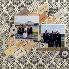 Layout: Bridal Party