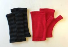 Another instructional video from SEWNZ to show how to sew Kids Fingerless Gloves, to support your sewing. This video shows the process from cutting fabric, c. Sewing Patterns For Kids, Fabric Scraps, Hand Warmers, Knitted Fabric, Fingerless Gloves, Wool, Knitting, Halloween 2019, Clothes