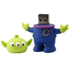 Toh Querendo: Pen Drive Alien Toy Story - 8GB