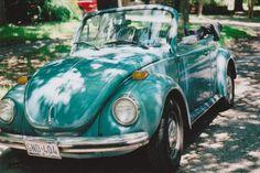 turquiose convertible