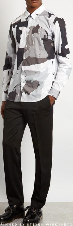 Études - Info Pirovino Button Down Collar Cotton Shirt #etudes #shirts