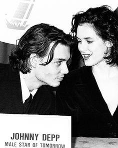 Johnny Depp and Winona Ryder
