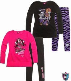 Labai graži tunika ir timpos Monster High