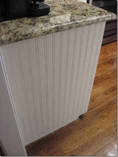 Mindy you are so creative!   Revamp cabinets with beadboard wallpaper...  It's easy to use, inexpensive and you can paint it.  I recently purchased a roll for $29 at Ace Hardware to give my kitchen island a makeover.