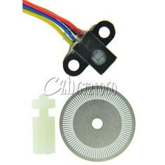 Photoelectric Speed Sensor Encoder Coded Disc code wheel For Freescale car