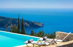 Avlaki Bay House, Greece, Paxos Greece, Outdoor Decor, House, Home Decor, Greece Country, Decoration Home, Home, Room Decor, Home Interior Design