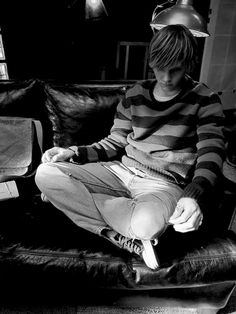 Tate Langdon. Evan Peters! <3