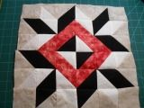Kansas quilt block pattern with instructions   12 inch block