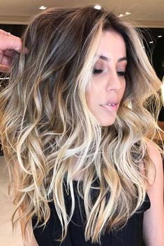 24 Stylish Ideas with Highlights for Dark Hair ★ Medium Hair with Highlights Picture4 ★ See more: http://glaminati.com/highlights-for-dark-hair/ #hairstyles #highlights