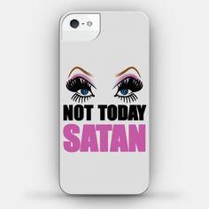 Not Today Satan | HUMAN | T-Shirts, Tanks, Sweatshirts and Hoodies