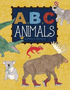 (Flowerpot Press) Join your favorite furry friends from the animal kingdom as they guide young readers through the alphabet in this charming picture book.