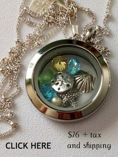 Travel, Summertime, Beach - This Origami Owl Locket says it all.