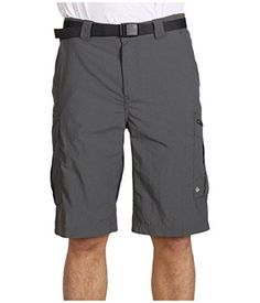 Columbia Men's Silver Ridge Cargo Short, Grill, 38x12. For product info go to:  https://www.caraccessoriesonlinemarket.com/columbia-mens-silver-ridge-cargo-short-grill-38x12/