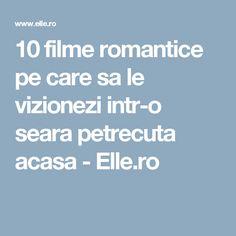 10 filme romantice pe care sa le vizionezi intr-o seara petrecuta acasa - Elle.ro Samba, Movies
