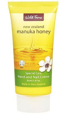 Wild Ferns Manuka Honey Hand and Nail Cream by Wild Ferns, http://www.amazon.com/gp/product/B00162TBTW/ref=cm_sw_r_pi_alp_neyfrb1CBX55C
