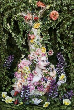 The Secret Locked In The Roots Of A Kingdom - (200cm high) To read about this shoot and watch the film of it being made + many more behind the scenes pictures please visit the Diary entry here - www.kirstymitchellphotography.com/diary/?p=2526  Costume, wig and set are all hand made by myself and true scale.  FB - www.facebook.com/kirstymitchellphotography Website - www.kirstymitchellphotography.com