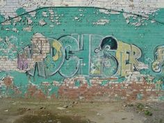 Graffiti -  'Madchester' the British music scene developed in Manchester towards the late1980's
