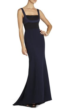 Arabella Fitted Gown | BCBG