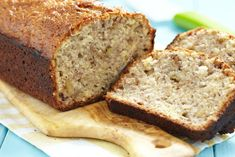Discover light dessert recipes from SkinnyMs. Our easy, healthy dessert recipes are low-calorie without compromising delicious taste. Treat yourself with SkinnyMs desserts! Best Banana Bread, Banana Bread Recipes, Banana Nut, Cinnamon Zucchini Bread, Honey And Cinnamon, Ground Cinnamon, Quick Bread, Sweet Bread, Bananas