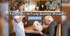 These are some of the trickiest and most common grammar mistakes people make in their everyday conversations. They are worse on FACEBOOK and TWITTER! Do you think you can correctly answer these 14 tricky grammar questions?