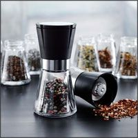 Rosendahl - Grand Cru Salt, Pepper & Spice Mill (adjusts to produce fine or coarse grind; even works for coffee beans)