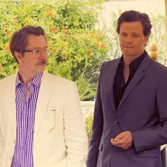 Gary and Colin Firth.