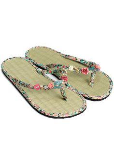 b282d1e2676b51 Secret Garden Seagrass Flip Flop