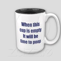 Hilarious Secret Santa or Gag Gift for Christmas - Funny Coffee Mug    http://www.zazzle.com/coffee_time_mug-168102129044635278