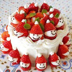 Ultra Easy Strawberry Santas