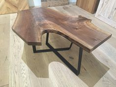 Walnut Coffee Table On Behance