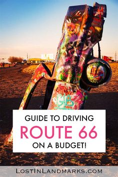The route 66 road trip can cost as little or as much as you like. Here's how we did the classic USA road trip on a budget and what we spent driving route 66 Driving Route 66, Route 66 Road Trip, Road Trip Packing, Road Trip Hacks, Road Trip Usa, Packing Tips, Travel Packing, Usa Travel Guide, Travel Usa