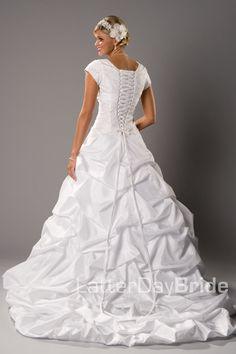 Modest Wedding Dress, Westbrook | LatterDayBride & Prom