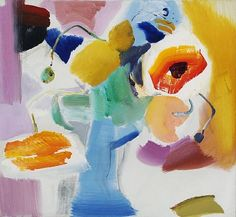 Pure Painters: Ivon Hitchens meets Pierre Soulages – the republic of less Garden Painting, Love Painting, Painting & Drawing, Abstract Art For Kids, Abstract Flowers, Artist Art, Abstract Landscape, Flower Art, Modern Art
