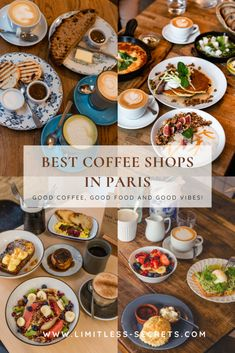 Are you wondering where are the best coffee shops in Paris? I got you covered! All of the cafes that I will share with you in this article serve amazing coffee, lattes and other drinks, plus they have delicious food! Best Coffee Shop, Coffee Shops, Dairy Free Options, Vegan Options, Paris Cafe, Paris Paris, Paris France, Bucket List Europe, Bucket Lists