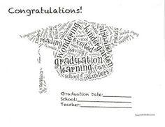 18 Best Graduation / program ideas images in 2016