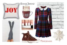 photoshoot: plaid princess by skinny-jeannie on Polyvore featuring polyvore art