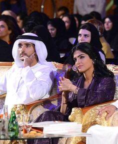 Princess Ameerah Altaweel and Seikh Hamdan bin al Maktoum, Crown Prince of Dubai